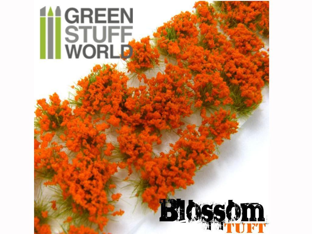 Flores Naranjas (Vista 3)