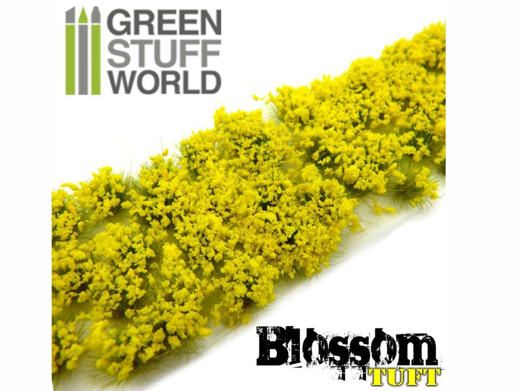 Flores Amarillas - Autoadhesivas - 6mm  (Vista 2)