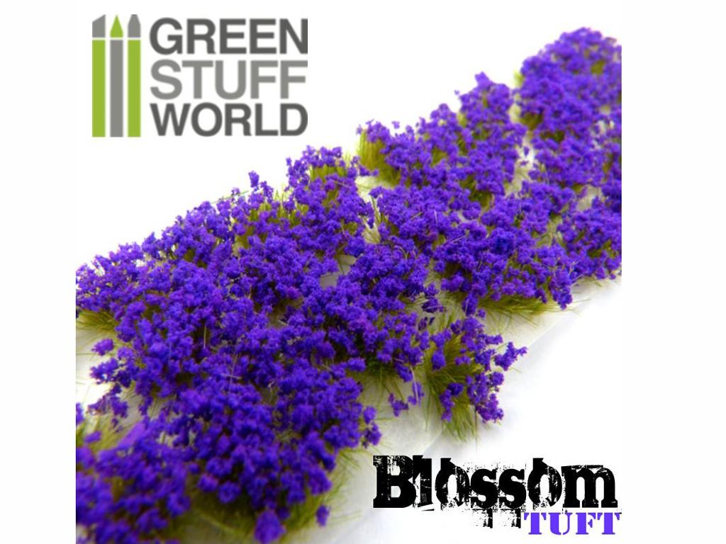 Flores Violetas - Autoadhesivas - 6mm (Vista 2)
