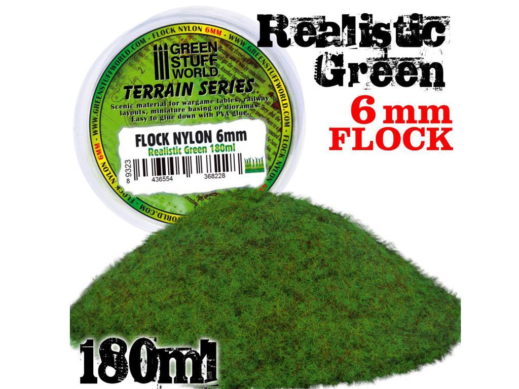 Cesped Electrostatico XL - 6 mm - Verde Realista (Vista 1)
