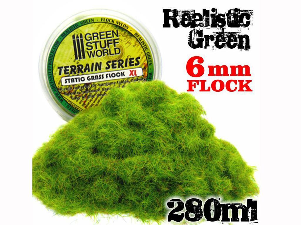 Cesped Electrostatico XL 6 m - Verde Rea (Vista 1)