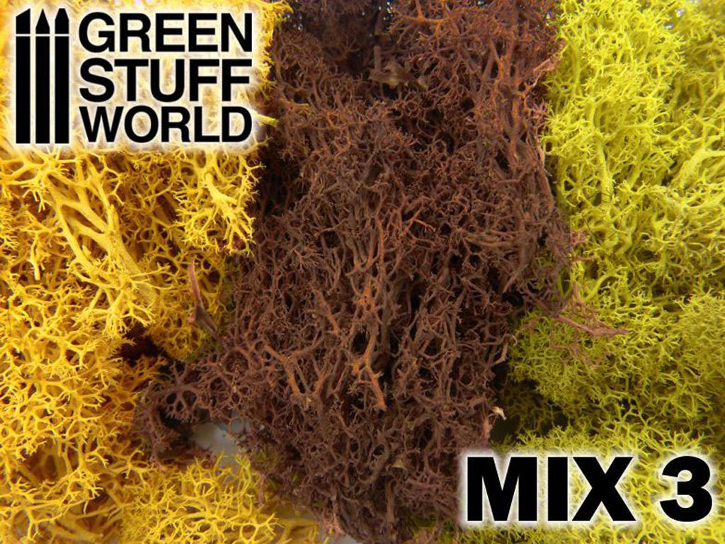 Musgo - Mezcla Amarillos y Marron (Vista 1)