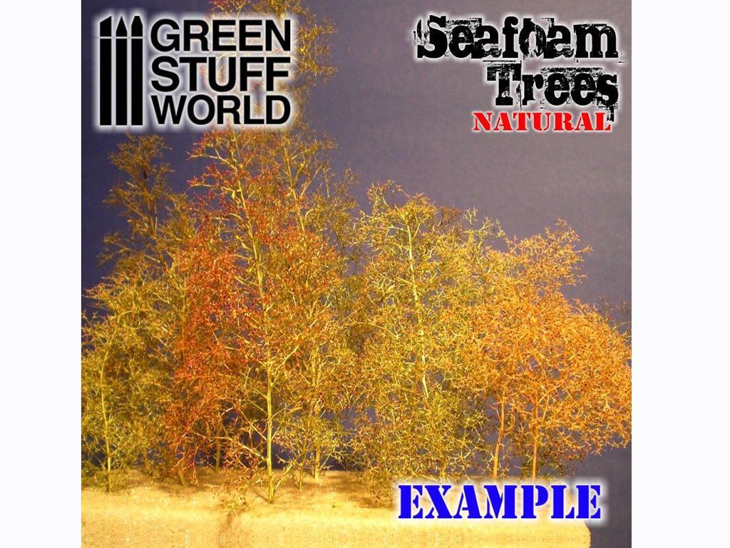 Set árboles espuma de mar (Vista 3)