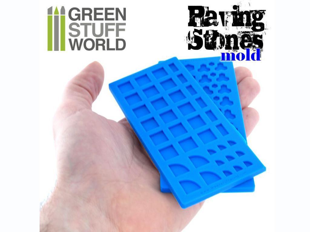 Moldes de Silicona Pavimento de piedra (Vista 3)