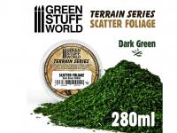 Hojarasca - Verde Oscuro (Vista 3)