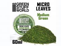 Micro Hojas - Mix Verde Medio (Vista 4)