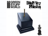 Pedestal Bustos Negro 5 x 5 cm (Vista 4)