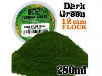 Cesped Electrostatico 12 mm - Verde Oscuro (Vista 3)