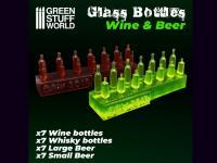 Botellas de Vino y Cerveza (Vista 4)