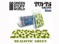 Matas Cesped Verde Realista 2 mm (Vista 3)