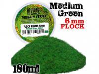 Cesped Electrostatico 6 mm - Verde Medio (Vista 3)