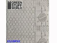 Rodillo Texturizado Hexagonos (Vista 5)