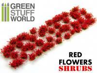 Matas Arbustos Flores Rojas (Vista 5)