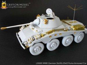 Fotograbados para Sd.kfz Aleman WW2  (Vista 1)