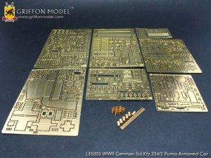 Fotograbados para Sd.kfz Aleman WW2  (Vista 6)