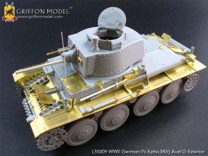 Pz.Kpfw.38(t) Ausf.G Exterior /w metal B  (Vista 1)