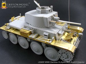 Pz.Kpfw.38(t) Ausf.G Exterior /w metal B  (Vista 2)