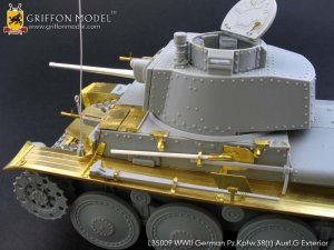 Pz.Kpfw.38(t) Ausf.G Exterior /w metal B  (Vista 4)