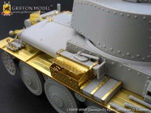 Pz.Kpfw.38(t) Ausf.G Exterior /w metal B  (Vista 5)