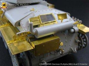 Pz.Kpfw.38(t) Ausf.G Exterior /w metal B  (Vista 6)