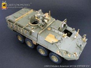 Modern American M1126 STRYKER ICV Gradeu  (Vista 3)