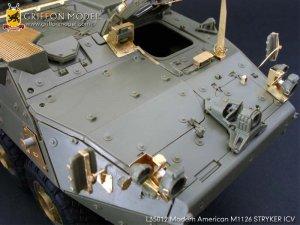 Modern American M1126 STRYKER ICV Gradeu  (Vista 4)