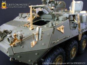Modern American M1126 STRYKER ICV Gradeu  (Vista 5)