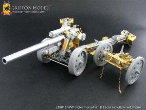 German sFH18 15cm Howitzer w/Limber - Ref.: GRIF-L35015