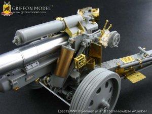 German sFH18 15cm Howitzer w/Limber  (Vista 3)