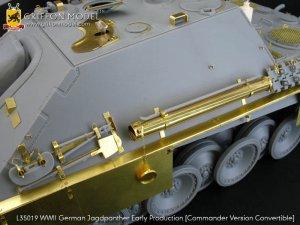 Jagdpanther Early Production  (Vista 3)