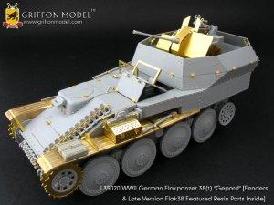 """WW II German Flakpanzer38(t) """"Gepard""""  - Ref.: GRIF-L35020"""