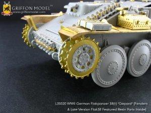 "WW II German Flakpanzer38(t) ""Gepard""   (Vista 2)"