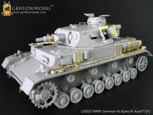 Pz.Kpfw.IV Ausf.F1(F)  - Ref.: GRIF-L35023