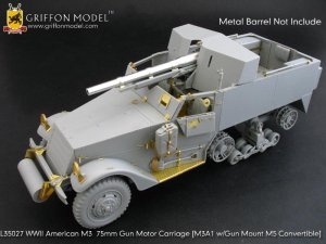 U.S. M3 75mm Gun Motor Carriage    (Vista 1)
