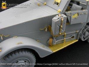 U.S. M3 75mm Gun Motor Carriage    (Vista 2)