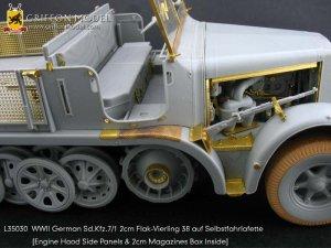 Sd.Kfz.7/1 2cm Flak-Vierling38 auf Selbs  (Vista 3)