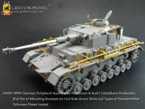 Pz.IV Ausf.H Late Production & Ausf.J   (Vista 1)