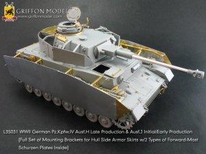 Pz.IV Ausf.H Late Production & Ausf.J   (Vista 2)