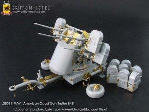American Quad Gun Trailer M55   (Vista 1)