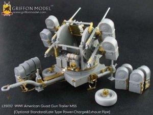 American Quad Gun Trailer M55   (Vista 5)