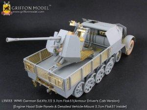 German Sd.Kfz.7/2 3.7cm Flak37  (Vista 5)