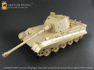 German KingTiger Tank  (Vista 1)