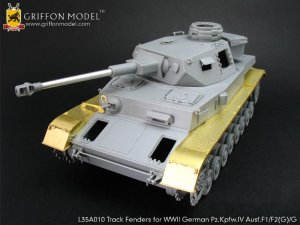 Track Fenders for Pz.Kpfw.IV Ausf.F1/F2   (Vista 1)