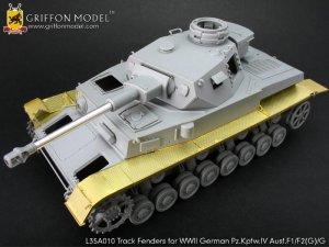 Track Fenders for Pz.Kpfw.IV Ausf.F1/F2   (Vista 2)