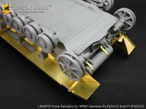 Track Fenders for Pz.Kpfw.IV Ausf.F1/F2   (Vista 3)