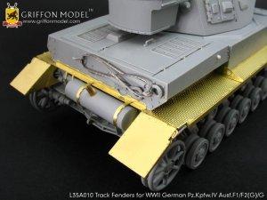 Track Fenders for Pz.Kpfw.IV Ausf.F1/F2   (Vista 4)