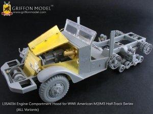 Engine Compartment Hood for M2/M3 Half-T  (Vista 1)