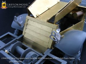 Engine Compartment Hood for M2/M3 Half-T  (Vista 2)