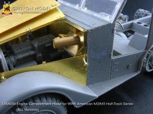 Engine Compartment Hood for M2/M3 Half-T  (Vista 3)