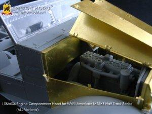 Engine Compartment Hood for M2/M3 Half-T  (Vista 4)